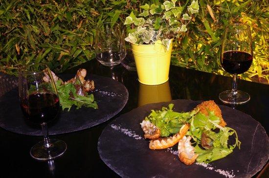 restaurant 7 eme Sens : .Entre terre et mer