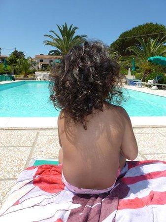 Albergo Romana : la piscina
