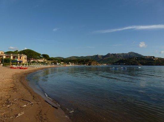 Albergo Romana: baia di Naregno