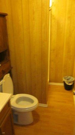 Berry Creek Cabins: bathroom