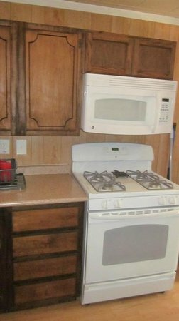 Berry Creek Cabins: kitchen