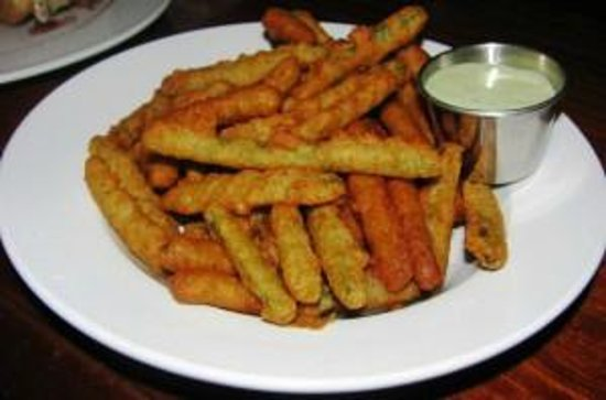 The Broad Axe Tavern: Fried Green Beans