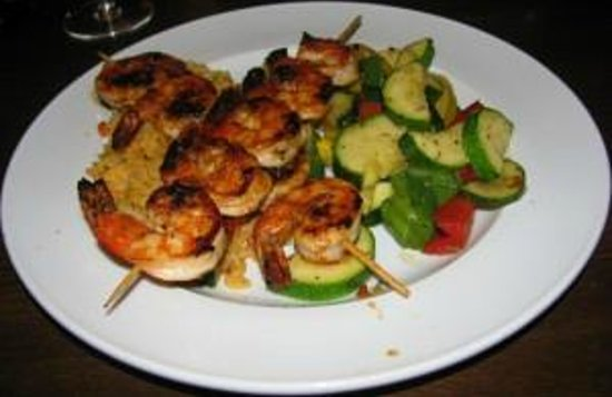 The Broad Axe Tavern: Grilled Shrimp