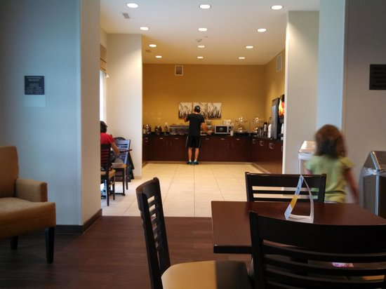 Sleep Inn & Suites Medical Center: breakfast area