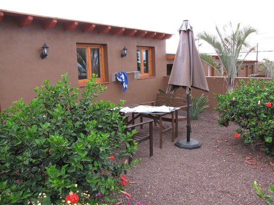 Casitas del Cardon: PRIVATE GARDEN