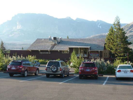 Reception and restaurant building foto van rising sun for Rising sun motor inn cabins