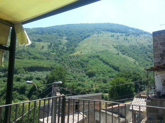 Terrazzo panoramico con sedie sdraio foto di i giardini for I giardini di marzo