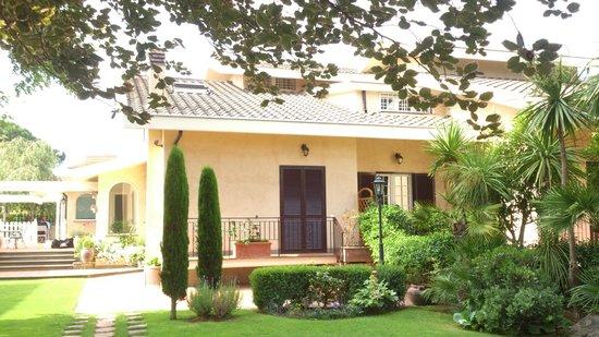 Entree La Villetta Suite