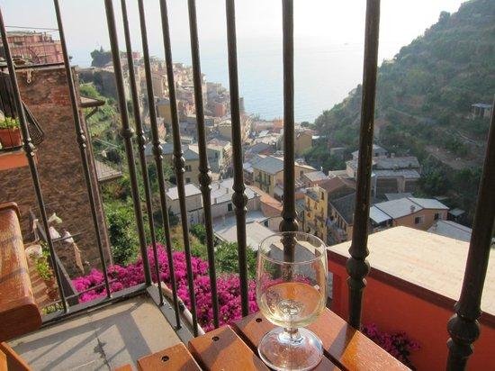 B&B and Apartments Da Baranin : Afternoon glass of wine