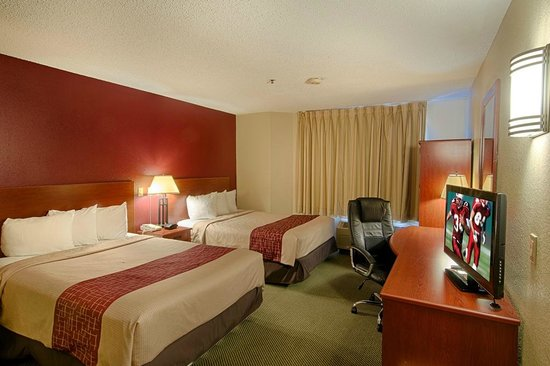 Red Roof Inn Houston IAH Airport: Double Room