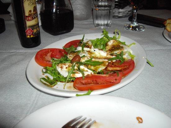 Galliano : mozzarela salad