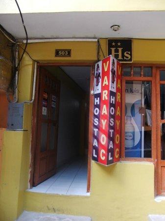 Hostal Varayoc: Entrance to the hostel