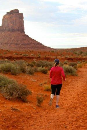 Wildcat Trail : Nice run/ walk in Monument valley