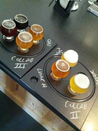 Maine Beer Company: The 2 flights of beer for the 'All In' tasting ($18)