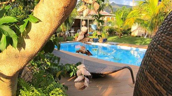 Rusty Pelican La Gaulette Apartments: pool&garden
