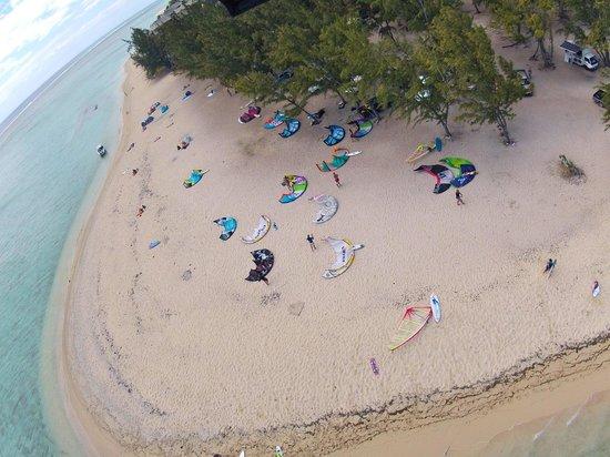 Rusty Pelican La Gaulette Apartments: Le morne kite beach