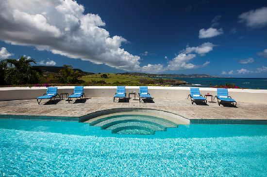The Buccaneer St Croix: Private Pool of Buccaneer Beach House