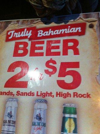 Rum Runners: Beer deals