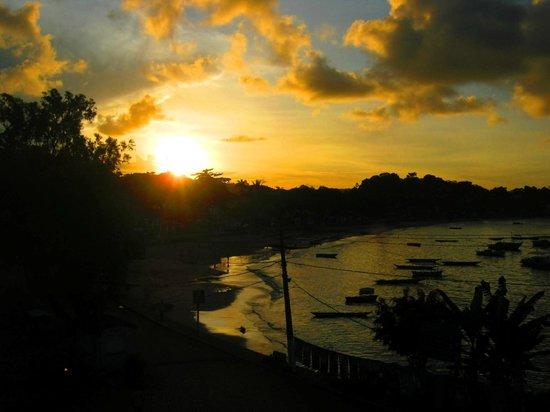 Pousada Portal da Concha: Por do sol na Rio das Conchas