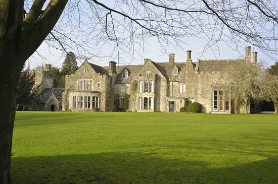 Chavenage House: THE BIG LAWN AT CHAVENAE