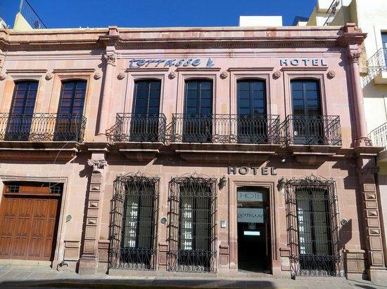 Terrasse Hotel: Hotel View