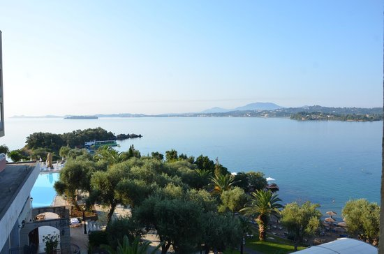 Grecotel Corfu Imperial: Sea view