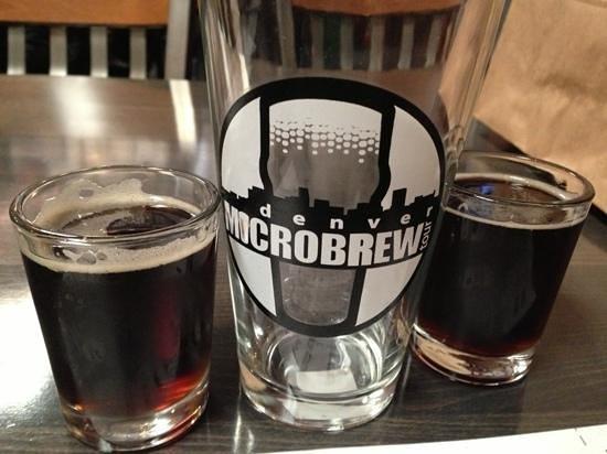 Denver Microbrew Tour: Porter and pint glass