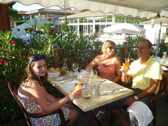 Domaine de L'Espinet : genieten van een etentje op het domein in restaurant Le Brantalou