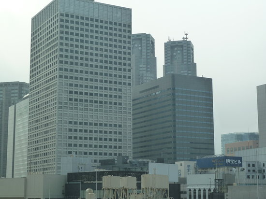 Hotel Sunroute Higashi Shinjuku: part of the view from the room