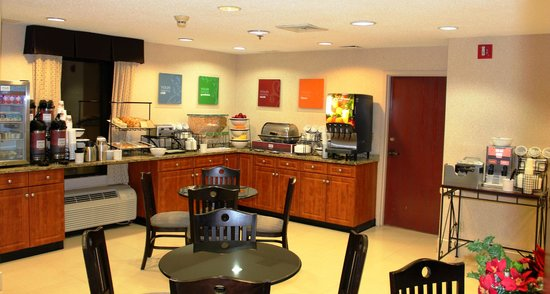 Quality Inn & Suites NJ State Capital Area: Breakfast Room