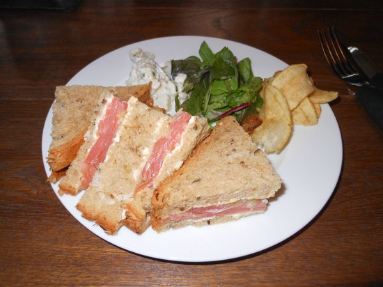 Glamis Castle Restaurant: sandwitch