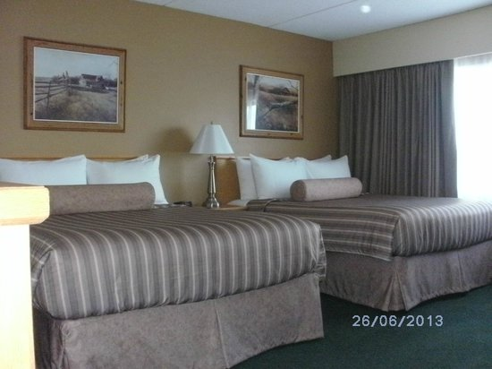 Travelodge Prince George Goldcap BC: Zimmer