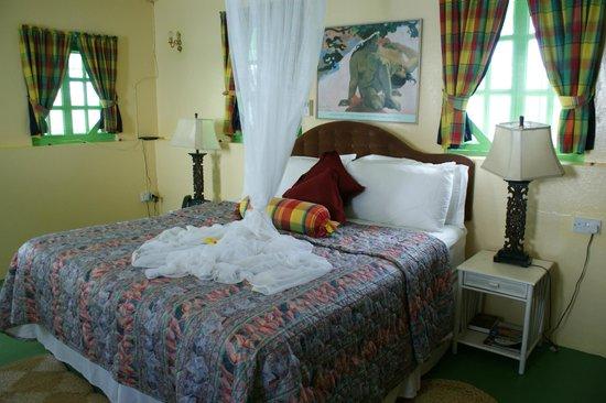 La Haut Resort: Comfy bed