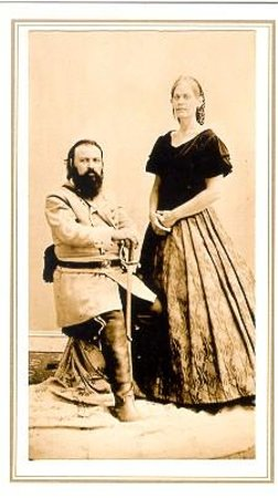 Gibson's Photographic Gallery: My Wife and I (140th Anniversary Gettysburg)