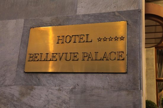 BELLEVUE PALACE Bern: Lovely hotel