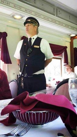 Essex Steam Train & Riverboat: Conductor