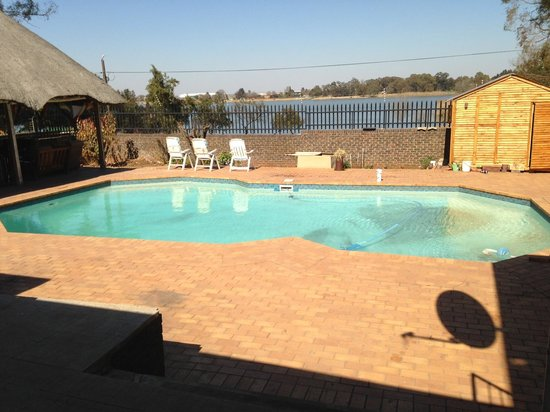 Lakeview Backpackers: The pool
