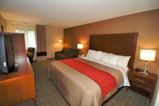 Comfort Inn Latham/Albany North: King Room with Sofa (sofabed)