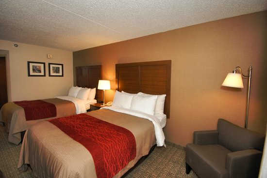 Comfort Inn Latham/Albany North : Double/Double