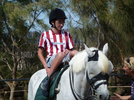 Centro Hípico Los Pinos Verdes: Paul, riding lesson 4