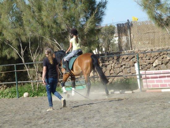 Centro Hípico Los Pinos Verdes: Ainhoa riding lesson 5
