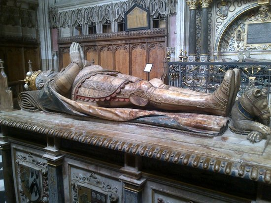 Collegiate Church of St Mary's: Ambrose Dudley's Tomb