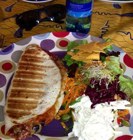 The Toucan Cafe: Quesadillas