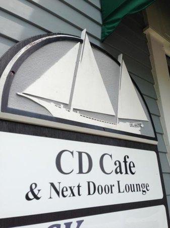 CD Cafe: outside