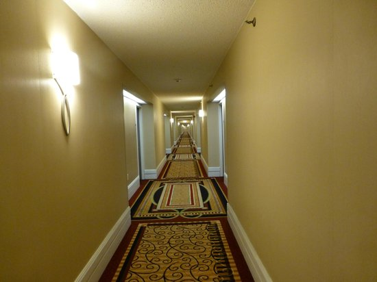 Newark Liberty International Airport Marriott: The Shining-vibes in the hallway