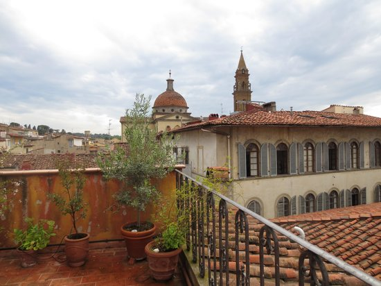Residenza d'Epoca Via Santo Spirito 6: View from the Emily Dickenson Room