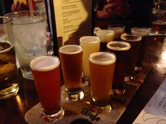 Phantom Canyon Brewing Co: Great beers--tried a Taste Flight