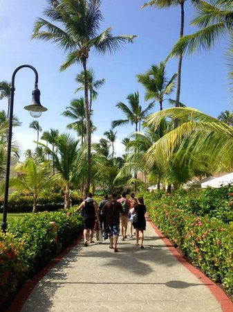 Majestic Colonial Punta Cana: Walking around