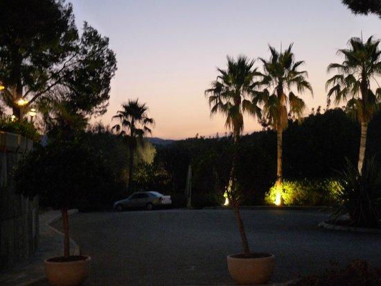 Palmira Paradis Hotel: Sonnenaufgang 08/13