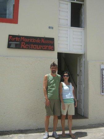 Restaurante Forte Mauricio de Nassau: Entrada do Restaurante
